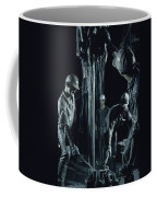 Oilmen Covered In Mud Pull Up A Drill Coffee Mug