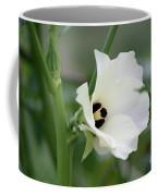 Okra Flower Coffee Mug