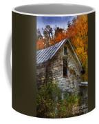 Old Abandoned House In Fall Coffee Mug