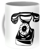 Old Analogue Phone Coffee Mug