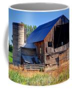 Old Barn With Concrete Grain Silo - Utah Coffee Mug