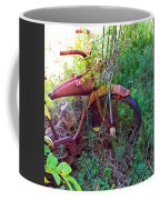 Old Bike And Weeds Coffee Mug