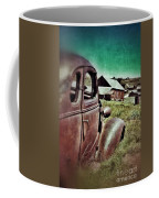 Old Car And Ghost Town Coffee Mug