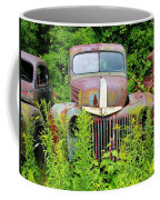 Old Car Grave Yard Coffee Mug