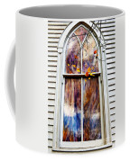 Old Carpenter Gothic Style Church Window In Wv Fall Coffee Mug