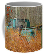 Old Chevy In The Field Coffee Mug