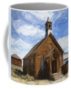 Old Church At Bodie Coffee Mug