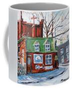 Old Corner Store Montreal By Prankearts Coffee Mug