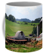 Old Dairy Barn Coffee Mug