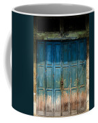 old door in China town Coffee Mug