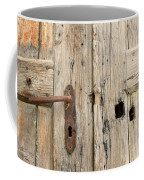 Old Door In Sebastia Coffee Mug