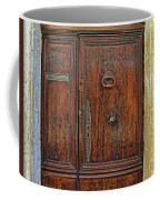 Old Door Study Provence France Coffee Mug