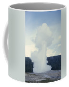 Old Faithful Geyser Erupts About Once Coffee Mug