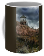 Old Farmhouse With Stormy Sky Coffee Mug