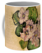 Old-fashioned African Violets Coffee Mug