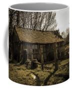 Old Fashioned Shed Coffee Mug by Dawn OConnor