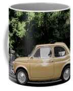 Old Fiat Coffee Mug