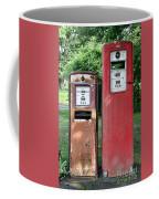 Old Gas Station Pumps Coffee Mug
