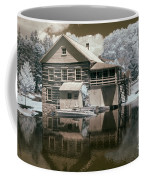 Old Grist Mill In Infrared Coffee Mug