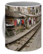 Old Hanoi By The Tracks Coffee Mug
