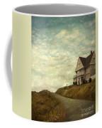 Old House On Rural Road Coffee Mug