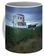 Old Houseboat On A Minnesota Shore On Lake Superior Coffee Mug