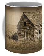 Old Hunting Cabin - Wyoming Coffee Mug