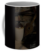 Old Items On A Stone Hearth 1 Coffee Mug