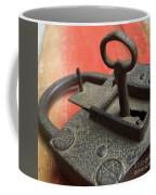 Old Key And Lock Coffee Mug