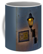 Old Lamp On A Colonial Building In Old Cartagena Colombia Coffee Mug