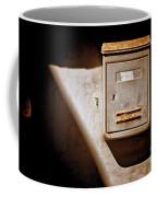 Old Mailbox With Doorbell Coffee Mug