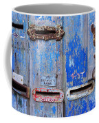 Old Mailboxes Coffee Mug by Carlos Caetano