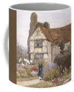 Old Manor House Coffee Mug by Helen Allingham
