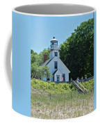 Old Mission Point Lighthouse 5306 Coffee Mug by Michael Peychich