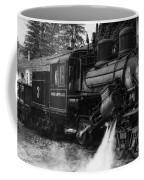 Old Number Three_climax Locomotive_durbin Wv _bw Coffee Mug