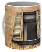 Old Open Window Coffee Mug