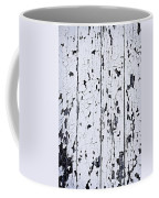 Old Painted Wood Abstract Coffee Mug