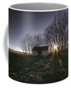 Old Prairie Homestead At Sunset Coffee Mug