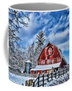 Old Red Barn Hdr Coffee Mug