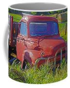 Old Red Truck Coffee Mug