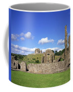 Old Ruins Of An Abbey With A Castle In Coffee Mug