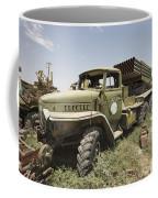 Old Russian Bm-21 Launch Vehicle Coffee Mug