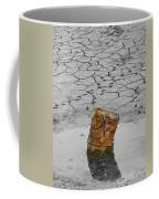 Old Rusted Barrel Abstract Coffee Mug