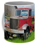 Old Rusted Semi-truck  Coffee Mug