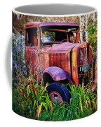 Old Rusting Truck Coffee Mug