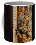 Old Rusty Door Coffee Mug