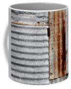 Old Rusty Sheet Metal Coffee Mug