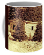 Old Shed Nothing Left But Memories Coffee Mug
