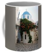 Old Town Church Paros Coffee Mug