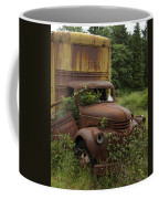 Old Truck In Rain Forest  Coffee Mug